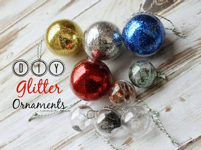 being mvp how to make glitter ornaments kid friendly craft tutorial oriental trading