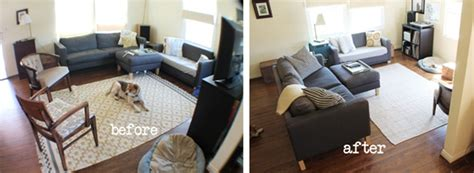 how to rearrange your living room less really is more no spend living room rev