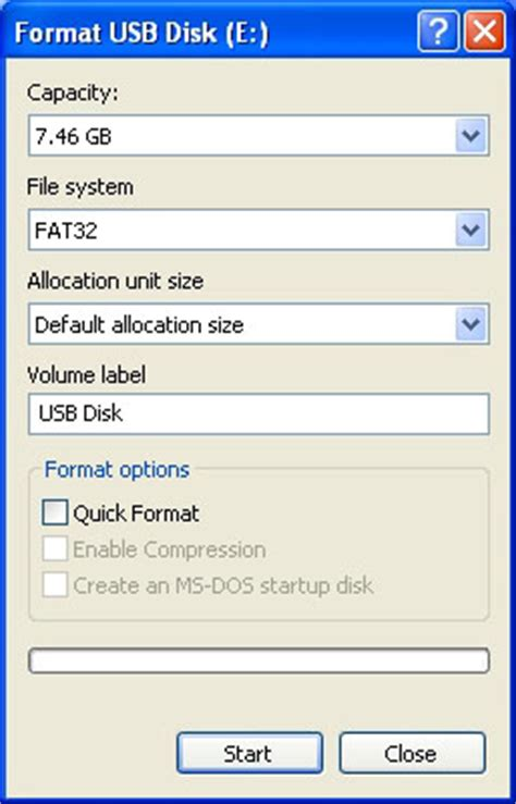 dvd player flash drive format how do i format a flash drive