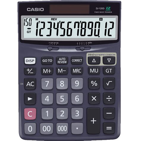 Kalkulator Casio Wide Format Keypad Dh 12 Desk Calculators Calculators Products Casio
