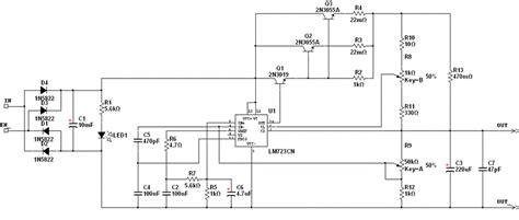 alimentatori stabilizzati schemi vasile elettronica alimentatore regolabile 0 30v 0 3a