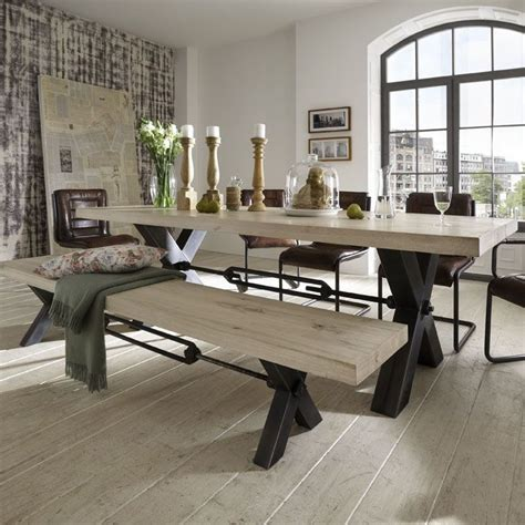 Bench Dining Room Set Dining Room 2017 Distressed Dining Room Table Design