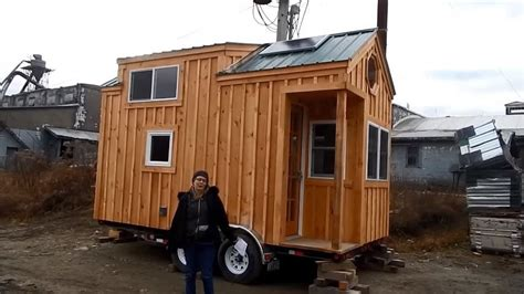 the latest tiny house on wheels from jamaica cottage shop 8x16 tiny house on wheels by jamaica cottage shop