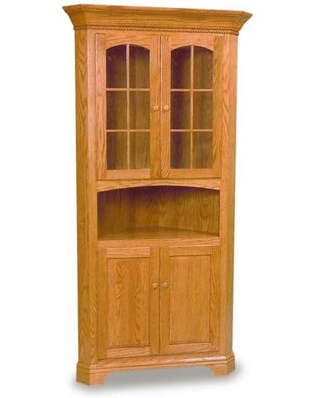 Corner Hutch Dining Room Furniture Amish Dining Room Deluxe Corner Hutch Amish Dining Room Furniture Sugar Plum Oak Amish