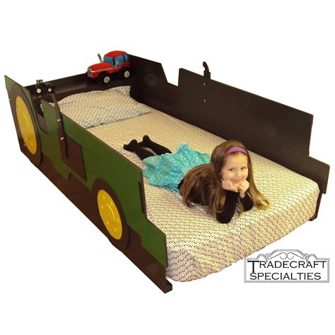 tractor bed buy a handmade tractor twin kids bed frame handcrafted farm tractor themed