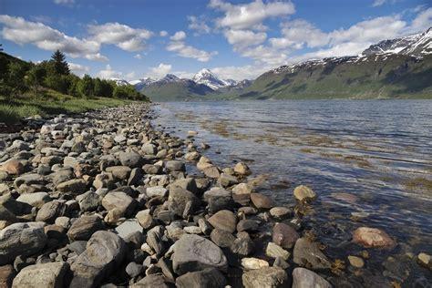 file fjord coast landscape from east coast of storfjorden
