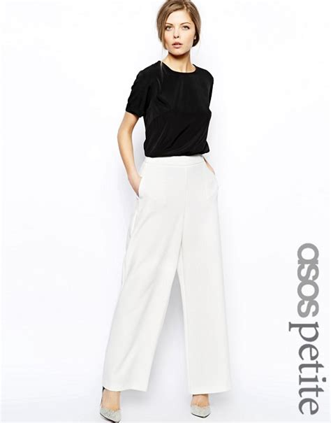 Land Nanette Lepores Wearable High Waist Trousers by Asos Asos With High Waist In Wide Leg