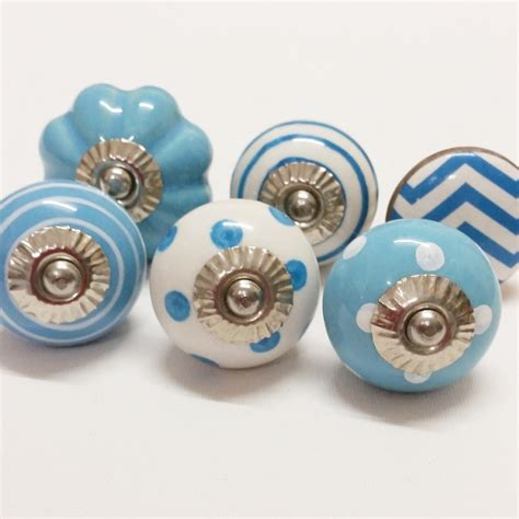 Furniture Knobs Cheap Sale Ceramic Knobs Wholesale Decorative Colorful Knobs