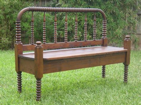 antique bed bench vintage repurposed antique bed bench upcycle by