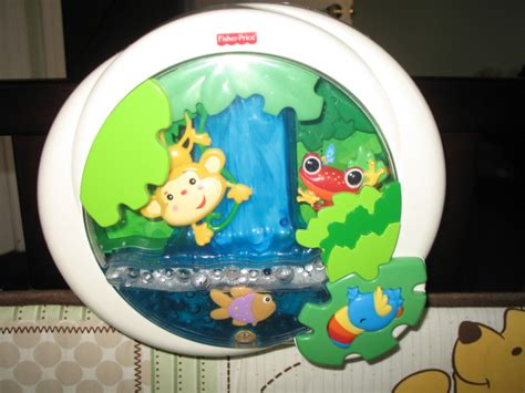 Fisher Price Jungle Crib Soother by Fisher Price Rainforest Waterfall Peek A Boo Soother