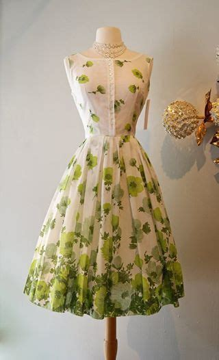 Garden Dresses For Of The Vintage Garden Dress Fashion Hair And Make Up