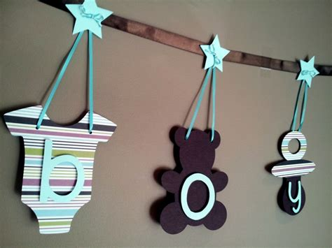 Handmade Baby Shower Banners - handmade banner baby shower baby shower