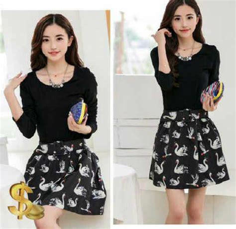 Overall Black Dress Hitam Lucu Murah jual blouse dagang baju jual dress t shirt