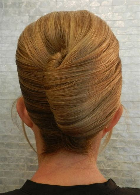 french twisted bangs french twist updo with bangs check out my board for more