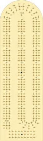 printable cribbage board template pin by gary silva on cribbage boards