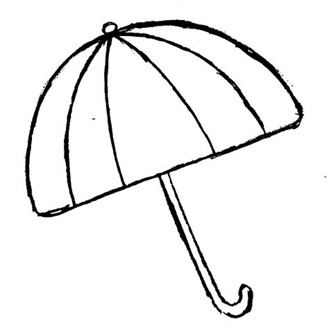 blank umbrella template blank umbrella raindrops template clipart best