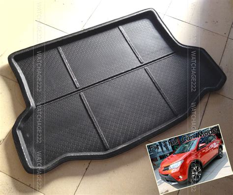 fit for 2013 2014 toyota rav4 rear trunk cargo mat tray
