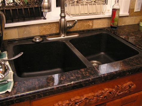 Kitchen Sinks With Granite Countertops Deirdra Doan New Counters
