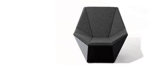 prism chair and ottoman washington prism lounge chair and ottoman by david adjaye