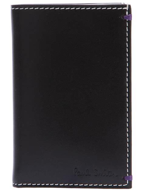 Jaden Leather Card Wallet Copper paul smith mini cooper wallet in black for lyst