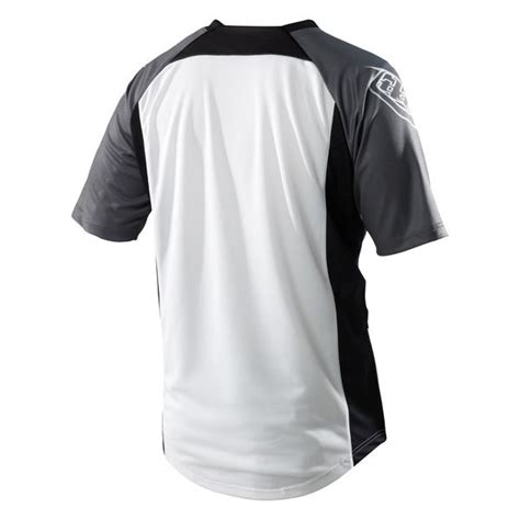 jersey design editor troy lee designs skyline jersey logo white gray 2012