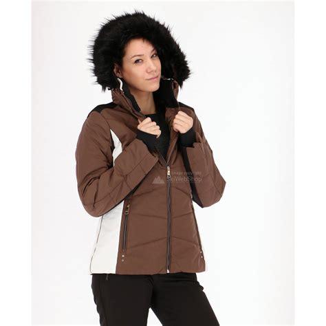 Jas Slim Fit luhta biret slim fit ski jacket khaki skiwebshop