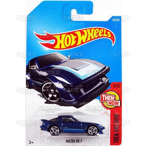 Hotwheels Reguler 95 Mazda Rx 7 Blue camco toys distributor for the wheels matchbox