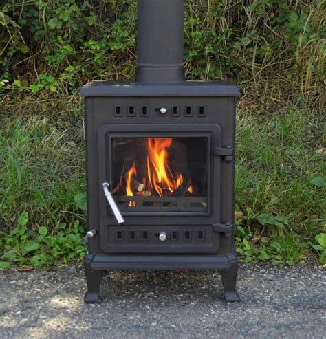 6kw mini coachman premier stove heater wood burning burner