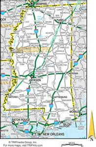 Ms State Map by Map Of Mississippi Mississippi Maps Mapsof Net