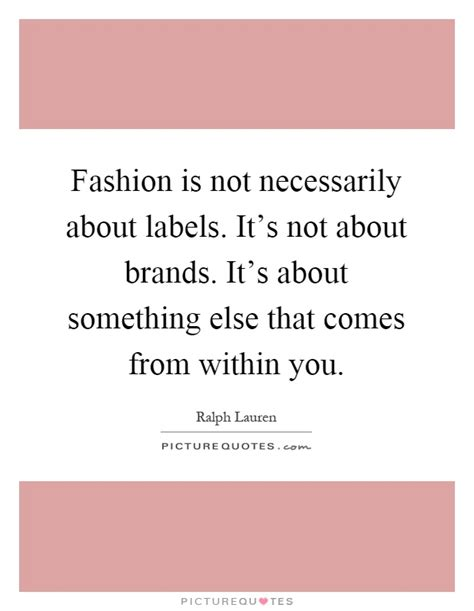 Fashion Labels In Braille Its Not About How You Look But How You Feel by Fashion Is Not Necessarily About Labels It S Not About