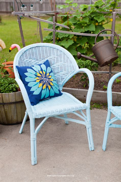 Painting Wicker Furniture Painting Wicker Patio Furniture