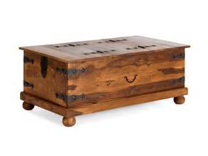 table basse coffre