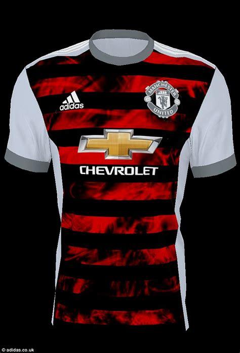 Jersey Manchester United Gk Go New Season 2017 18 Gra Berkualitas 2017 18 manchester united 18 away soccer jersey