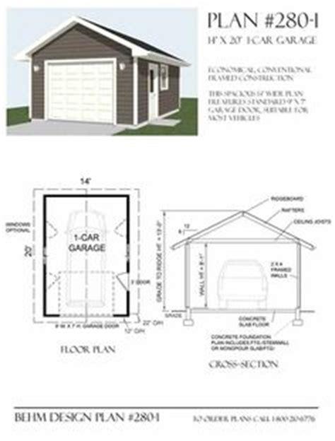 residential garage plans 1000 ideas about standard garage door sizes on