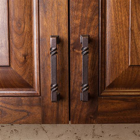 rustic kitchen cabinet hardware marceladick com tahoe collection rustic cabinet pull 4 1 2 5 13 16 or