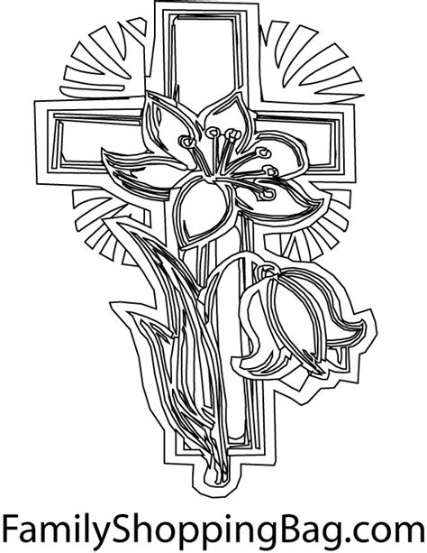 Easter Coloring Pages Easter Cross Coloring Pages Cross Coloring Pages Of The Cross