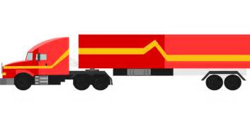 18 Wheels Truck Free Free Vector Graphic Truck 18 Wheeler Vehicle