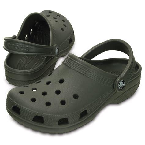 Crocs Slip On Original crocs classic shoe dusty olive original crocs slip on