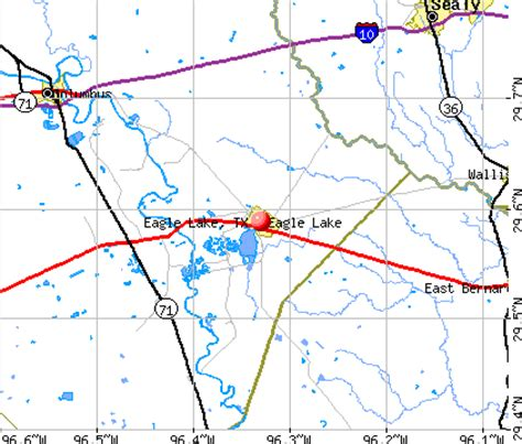 eagle lake texas eagle lake texas tx 77434 profile population maps