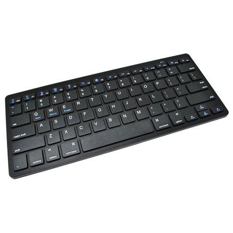 Ultra Slim Keyboard For 2 3 4 ultra slim bluetooth keyboard ios android pc black