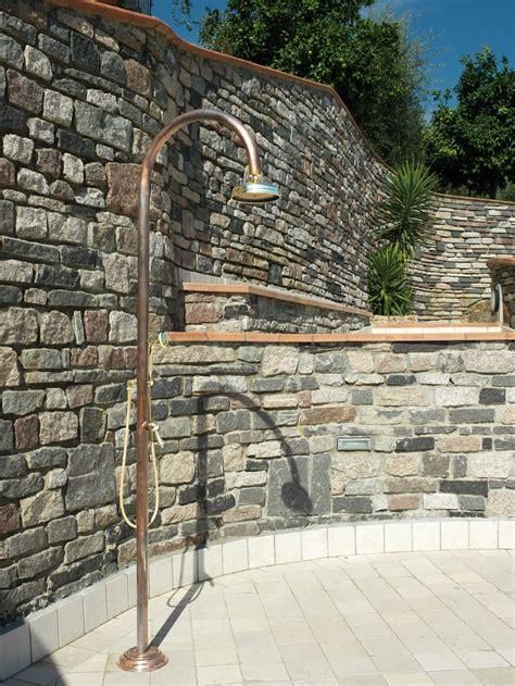rubinetti in rame origo rame c50 r colonna doccia in rame da esterno