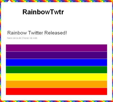 onmouseover imagenes html el gusano rainbow provoca el efecto onmouseover en twitter