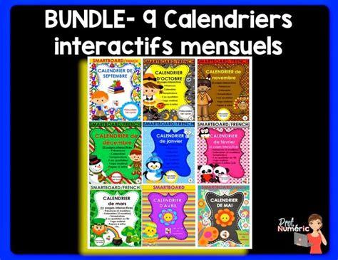 maintenant disponibles en semence sexxe ensemble de 9 calendriers interactifs notebook mes
