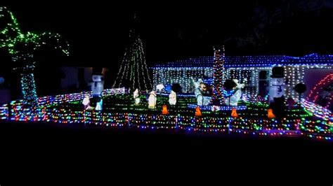 2013 led christmas light display florida mr christmas