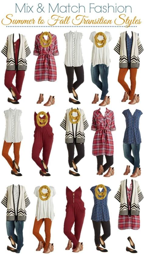 modcloth mix and match wardrobe modcloth mix and match wardrobe summer to fall style on