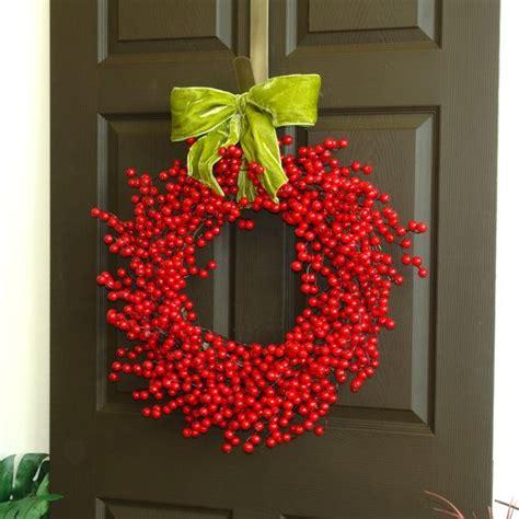 Berry Wreaths Front Door Berry Wreath Berries Wreath Front Door Decor Wreath Wreaths Fall Wreaths Wreaths