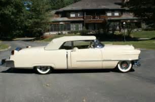 1954 Cadillac Series 62 All Original 1954 Cadillac Series 62 Convertible Derham