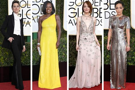 Golden Globes The Of Lost by Who Won And Lost The Golden Globes Carpet