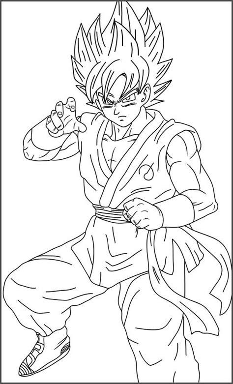 Imagenes De Goku Dios Para Colorear | imagenes de goku ssj dios azul para colorear archivos