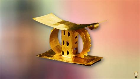 The Ashanti Golden Stool by Ashanti War Of The Golden Stool